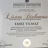 Photo taken at Anadolu Üniversitesi Açıköğretim Fakültesi Bürosu by Emre Y. on 8/21/2017