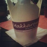 Photo taken at Makkaron Pasta Bar by Martta L. on 1/19/2013