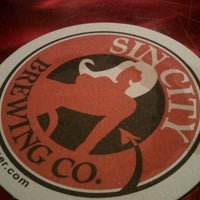 Photo taken at Sin City Brewing Co. by Reginald G. on 9/23/2012