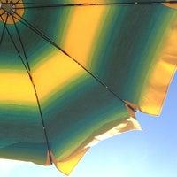 Photo taken at Spiaggia Di Straccoligno by Renata on 8/24/2014