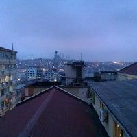 Photo taken at Şişhane by İlhan T. on 2/14/2013