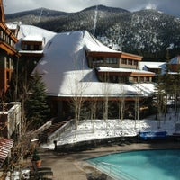 Photo taken at Grand Residences by Marriott, Lake Tahoe by Nick W. on 1/27/2013