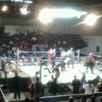 Photo taken at Arena Adolfo Lopez Mateos by Fernando S. on 12/17/2012