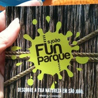 Photo taken at Fun Parque by Claudia P. on 6/10/2013