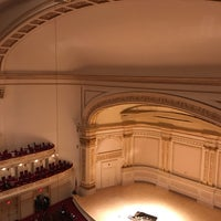 Foto scattata a Stern Auditorium / Perelman Stage at Carnegie Hall da Renato W. il 3/1/2018
