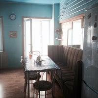 Photo taken at 1st Arbat Hostel by Tashka ✨ on 6/6/2014