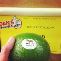 Photo taken at Dan's Supermarket by Jim E. on 1/26/2013