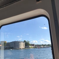 Photo taken at Ångbåtsbryggan Vaxholm by Elnica on 8/20/2017
