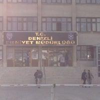 Photo taken at Denizli İl Emniyet Müdürlüğü by Kadir D. on 1/16/2013