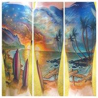 Photo taken at Salt & Light Tattoo by Salt & Light Tattoo on 9/23/2014