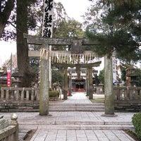 Photo taken at 国分町鎮座 日吉神社 by Tatawan A. on 12/29/2012