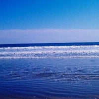 Photo taken at Easton's Beach by Jersey C. on 9/22/2012