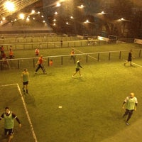 Photo taken at Foot Indoor des Barolles by Kico 2.0 on 1/20/2014
