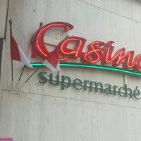 Photo taken at Casino Supermarché by Inga P. on 11/18/2016