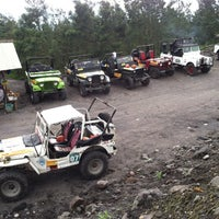 Photo taken at Volcano Tour Merapi by nans h. on 12/21/2013