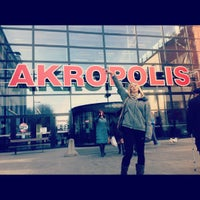 Photo taken at Akropolis by alise p. on 3/8/2013
