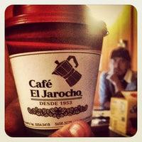 Photo taken at Café El Jarocho by Carlos G. on 10/30/2012