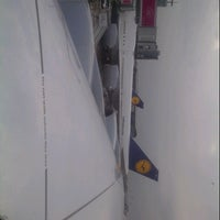 Photo taken at Lufthansa Flight LH 440 by John C. on 10/4/2013