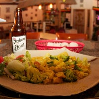 Photo taken at Queen Sheba Ethopian Restaurant by Queen Sheba Ethopian Restaurant on 10/28/2014