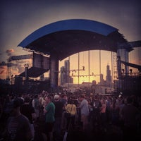 Photo taken at Huntington Bank Pavilion at Northerly Island by Abbey H. on 6/28/2013