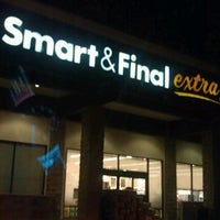 Photo taken at Smart & Final Extra! by J J. on 11/4/2012