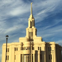 Photo taken at Payson Utah Temple by Sherri on 11/12/2013