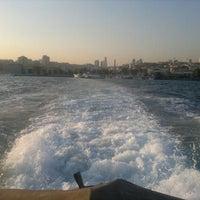 Photo taken at Besiktas - Uskudar Boat by Ali A. on 9/20/2012