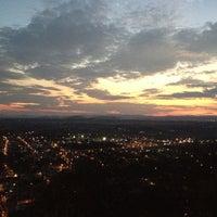 Photo taken at Capilla del Cerro de San Miguel by Adriana O. on 1/23/2013