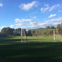 Photo taken at LMSA Soccer by Heather M. on 10/26/2014