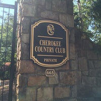 Photo taken at Cherokee Town and Country Club- Country Club by Heather M. on 5/5/2014