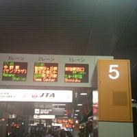 Photo taken at 第1ターミナルバスのりば by racingspirit on 10/22/2012