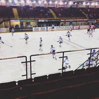 Photo taken at Ice Arena Wales by Rhianna W. on 3/9/2014