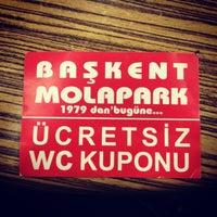 Photo taken at Başkent Mola Park by Selen K. on 12/23/2012