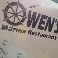 Photo taken at Owen's Marina by Jr on 2/3/2013