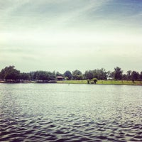Photo taken at Lake Balboa Park by Hizay C. on 6/23/2013