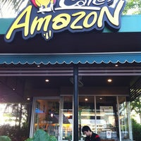Photo taken at Café Amazon by yinkzie p. on 5/22/2013