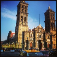 Photo taken at Zócalo by Salvador on 3/9/2013