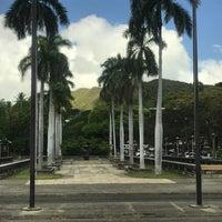 Photo taken at Saint Damien of Molokaʻi Statue by Jhonny J. on 4/13/2017