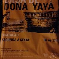Снимок сделан в Centro de Preservação Cultural da USP - Casa de Dona Yayá пользователем Herbert A. 6/21/2018