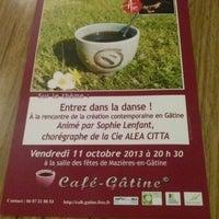 Photo taken at Mazières-en-Gâtine by Blanchard M. on 10/11/2013
