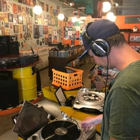 Photo taken at Dr. Freecloud's Record Shoppe by Maria G. on 7/31/2017