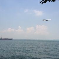 Photo taken at Changi Carpark 6 by Nina on 4/15/2013