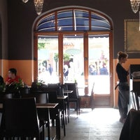 Photo taken at Ristorante Pizzeria Staccato by Polina on 10/7/2012