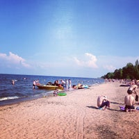 Photo taken at Lake Ladoga by Sasha S. on 6/29/2013