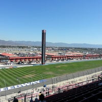 Photo taken at Auto Club Speedway by Rachel P. on 9/14/2012