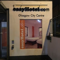 Photo taken at easyHotel Glasgow City by Martijn K. on 7/24/2016