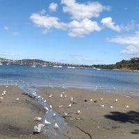 Photo taken at Cornelian Bay by Virginia G. on 12/26/2014