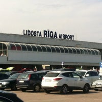 Photo taken at Riga International Airport (RIX) by Cristo on 7/29/2013