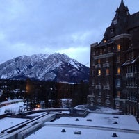 Photo taken at The Fairmont Banff Springs Hotel by Carol V. on 12/18/2013