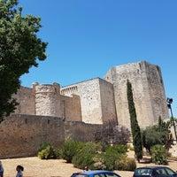 Photo taken at Castillo de San Sebastián by Rocio M. on 8/10/2017